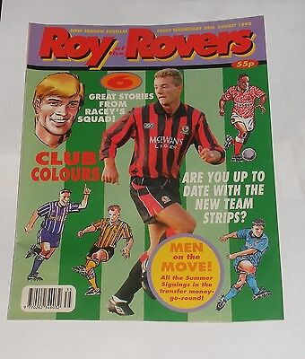 Roy Of The Rovers Comic 29Th August 1992