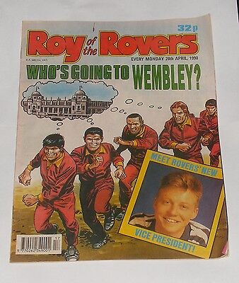 Roy Of The Rovers Comic 28Th April 1990