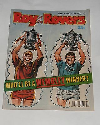 Roy Of The Rovers Comic 12Th May 1990