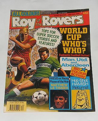 Roy Of The Rovers Comic 28Th July 1990