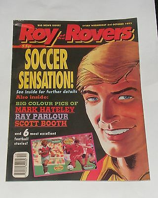 Roy Of The Rovers Comic 3Rd October 1992