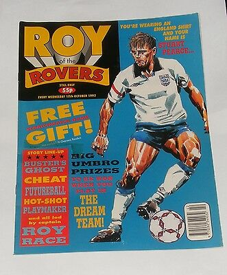 Roy Of The Rovers Comic 17Th October 1992