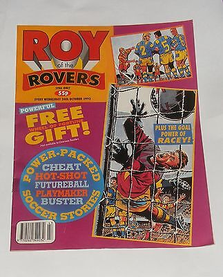 Roy Of The Rovers Comic 24Th October 1992