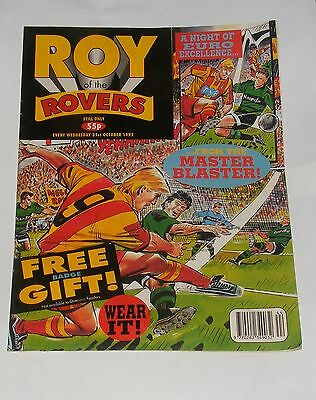 Roy Of The Rovers Comic 31St October 1992