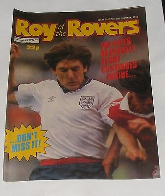 Roy Of The Rovers Comic 21St January 1989