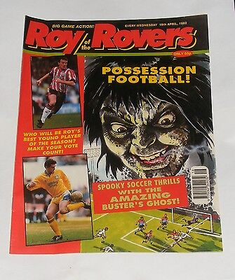 Roy Of The Rovers Comic 18Th April 1992