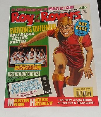 Roy Of The Rovers Comic 29Th September 1990