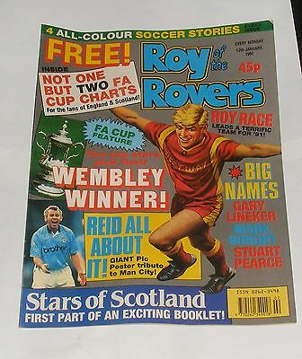 Roy Of The Rovers Comic 12Th January 1991