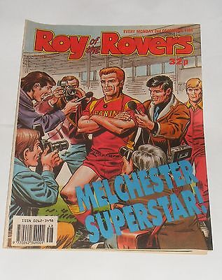 Roy Of The Rovers Comic 2Nd December 1989