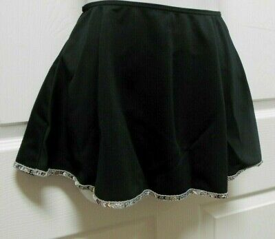 NWT Black Tap Skirt with Sequin Trim Ladies Girls Sizes