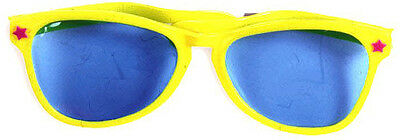 Oversized Sunglasses - Clown Glasses in Pink/Green/Yellow/Orange