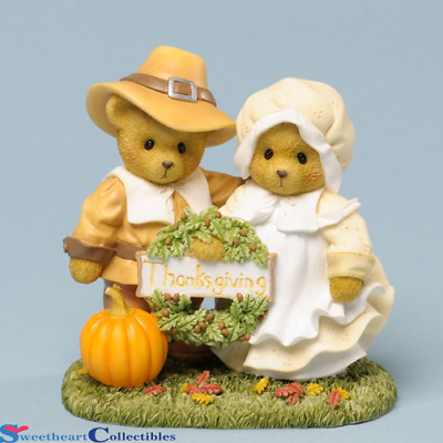 xCherished TeddiesThomas & Mary Thankful For Life's Blessings