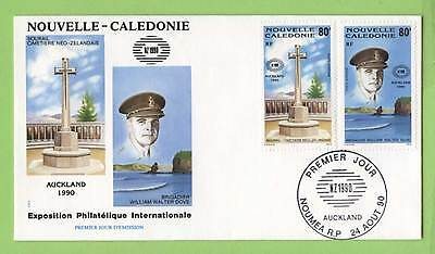 Fr. New Caledonia 1990 Auckland 90' Exhibition First Day Cover