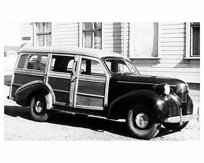 1946 ? Volvo PV61 Station Wagon Woodie Factory Photo c7143-JBX9PG