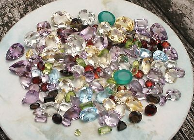 mix gems loose parcel lot over 150 carats