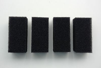 4 x Replacement Foam Filters for 300l/h Aquarium Internal Filter for Fish Tank