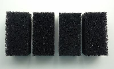 4 x Replacement Foam Filters for 1000l/h Aquarium Internal Filter for Fish Tank