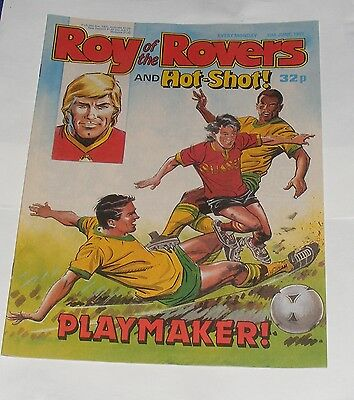 Roy Of The Rovers Comic 10Th June 1989