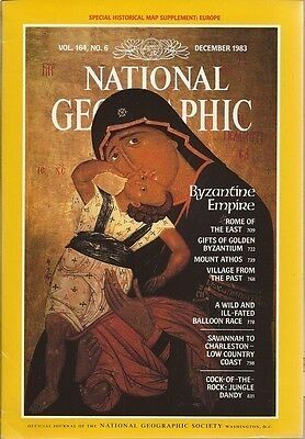 National  Geographic Magazine Dec 1983 With Map: History Of Europe