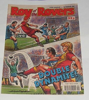 Roy Of The Rovers Comic 3Rd March 1990