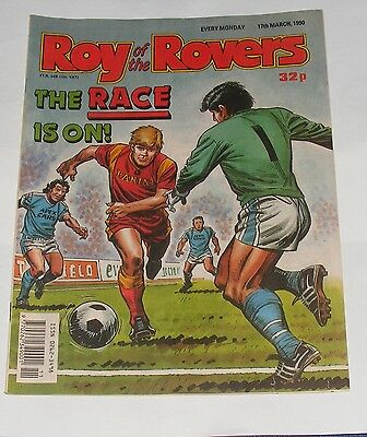 Roy Of The Rovers Comic 17Th March 1990