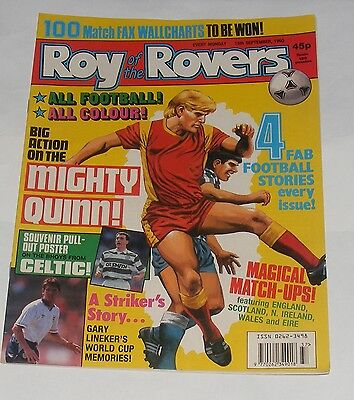 Roy Of The Rovers Comic 15Th September 1990