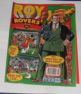 Roy Of The Rovers Comic 16Th January 1993