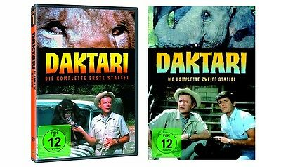 Daktari - Season/Staffel 1+2 * NEU OVP * DVD Box Set