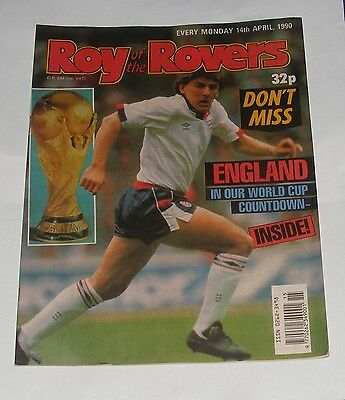 Roy Of The Rovers Comic 14Th April 1990