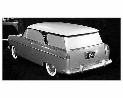 1953 Willys Overland Prototype Factory Photo c7652-3VCQNR