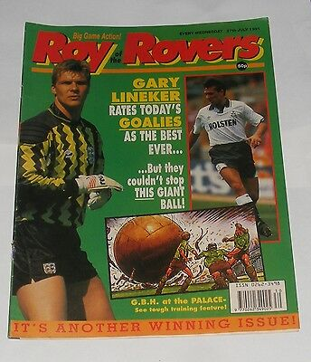 Roy Of The Rovers Comic 27Th July 1991