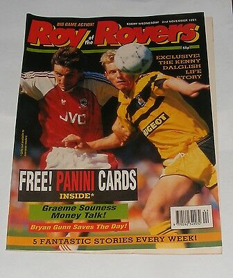 Roy Of The Rovers Comic 2Nd November 1991