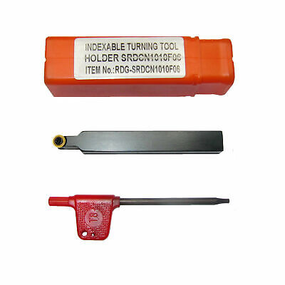Rdgtools 8Mm Shank Indexable Profile Tool (Rcmt 06) Comes With One Tip / Myford