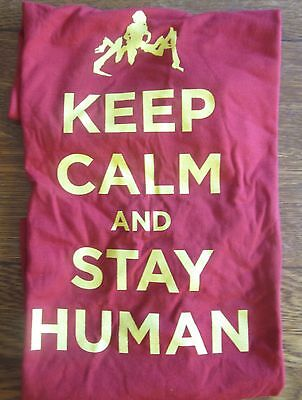 Falling Skies Keep Calm and Stay Human Shirt size L  - San Diego Comic Con 2013