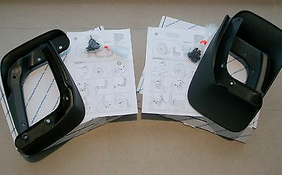 Genuine VW Golf Mk7 Mudflaps Full set **BRAND NEW** Front & Rear Mud Flaps