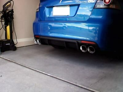 """2 Stainless Steel Dual Exhaust Tips 4.0 2.5 Pontiac G8 Gt Gxp Ss Pair 2.5"""" 4.0"""""""