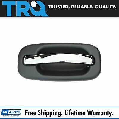 Outside Door Handle Black Chrome Front Passenger Side for 99-07 Chevy GMC Truck