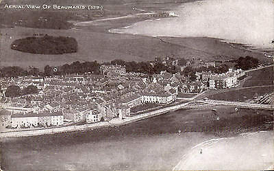 Beaumaris. Aerial View by Photochrom # 5291.