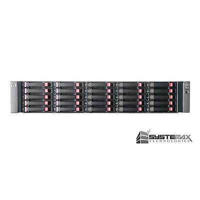 "HP StorageWorks MSA70 Storage Array w/ 25x 73GB 15K 6G 2.5"" SAS HDD 418800-B21"