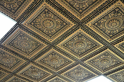 Faux tin ceiling tile model #223  (glue on or drop in)