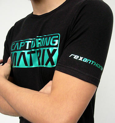 "Rexanthony ""CAPTURING MATRIX"" official tshirt oldschool"