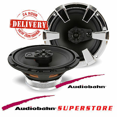 Audiobahn AS62 360 WATTS Coaxial 6.5 inch 17cm 2 Way Car Door Speakers