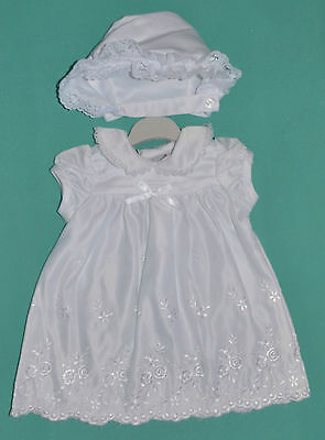 BRAND NEW Baby Girl Dress Christening Dress Set Sizes 0000,000,00,0,1