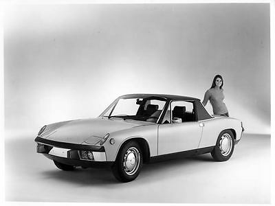 1973 Porsche 911 914 Factory Photo u2186-G7YOU4