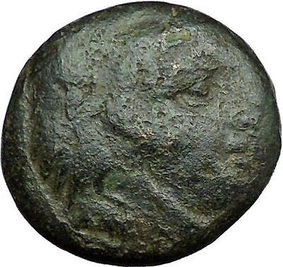 Alexander III the Great 336BC Ancient Greek Coin Hercules Bow Club  i33659