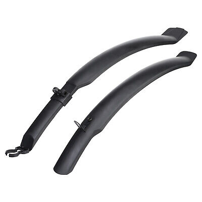 "Pedalpro Cycle 26"" Mudguards Front & Rear Mountain Bike/bicycle Mud Guards Set"