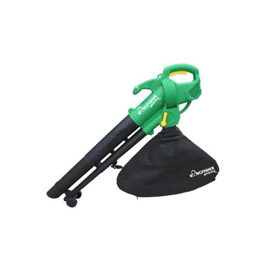 3 in 1 Electric Garden Leaf Blower Mulcher 2600W  with Vacuum + 10M Cable
