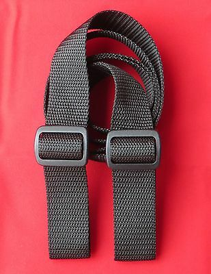 "RIFLE SHOTGUN SLING 1 1/4"" x 45"" (Cut 55) 750 lb Polypro Web 2 POINT ATTACH"