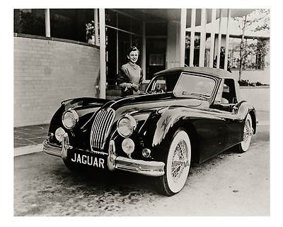 1955 Jaguar XK140 MC Roadster Automobile Photo Poster zu1509-8HVJW5