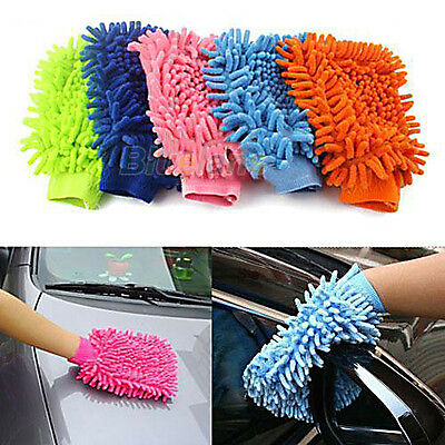New Strong Super Microfiber Car Truch Wash Washing Anti-Scratch Cleaning Glove